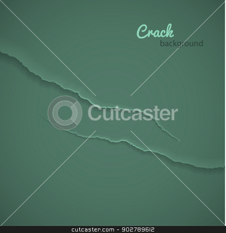 Crack background stock vector clipart, Vector illustration of Crack background by SonneOn
