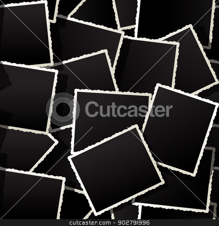Seamless photo background stock vector clipart, Seamless photo background by Richard Laschon