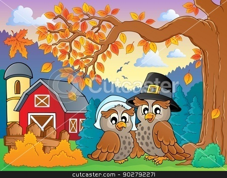 Thanksgiving theme image 4 stock vector clipart, Thanksgiving theme image 4 - eps10 vector illustration. by Klara Viskova