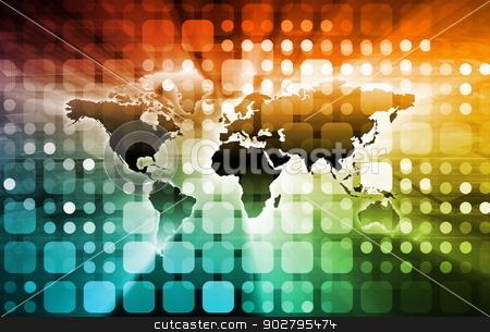 Social Media Advertising stock photo, Social Media Advertising on Website Attention Art by Kheng Ho Toh