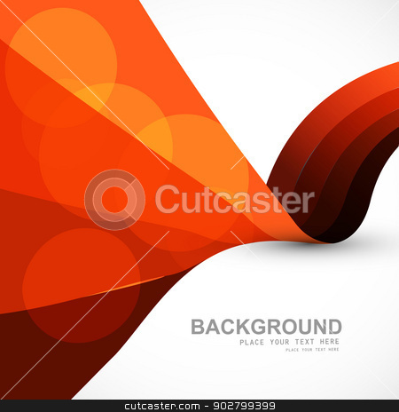 Abstract stylish colorful wave vector background illustration stock vector clipart, Abstract stylish colorful wave vector background illustration by bharat pandey