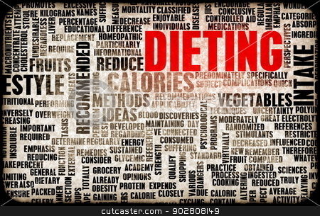 Dieting stock photo, Dieting and Weight Loss as a Concept Abstract by Kheng Ho Toh