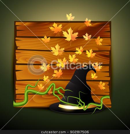 creepy halloween design stock vector clipart, vector creepy halloween design illustration by pinnacleanimates