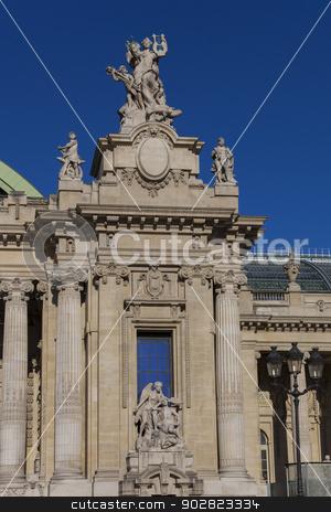 Grand Palais, Paris, Ile de France, France stock photo, Grand Palais, Paris, Ile de France, France by B.F.