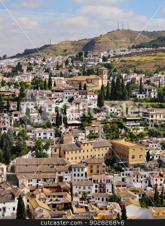 Granada, Spain stock photo, Cityscape of Granada - beautiful city in Andalusia, Spain by Karol Kozlowski