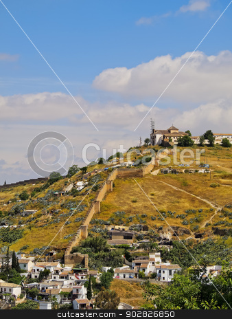 Granada, Spain stock photo, Cityscape of Granada - beautiful city in Andalusia, Spain by Karol Kozlowski
