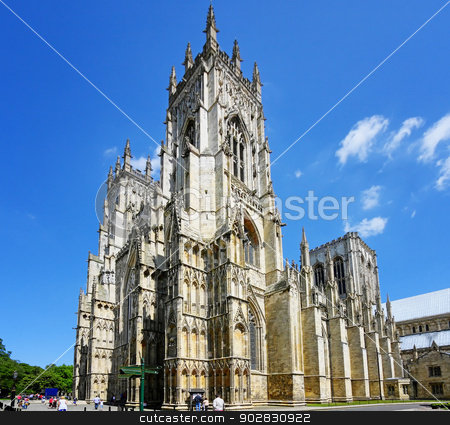 Cathedral in York stock photo, Cathedral in York,UK by WDGPhoto