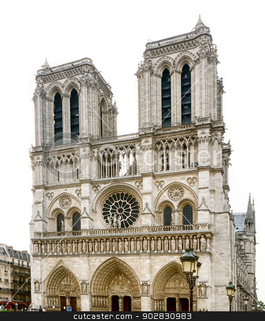 Notre Dame de Paris stock photo, Notre Dame de Paris by WDGPhoto