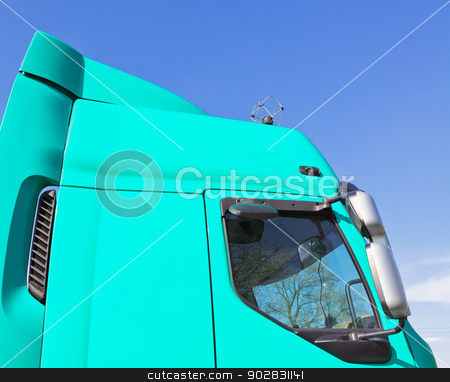 Truck cab stock photo, Truck cab by WDGPhoto