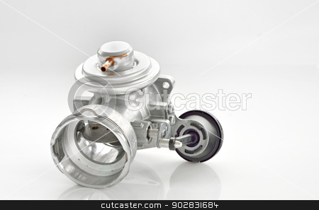 throttle isolated stock photo, throttle isolated shoot in studio by Iordache Magdalena