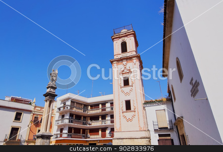 Old Town in Cordoba, Spain stock photo, View of the Old Town in Cordoba, Andalusia, Spain by Karol Kozlowski