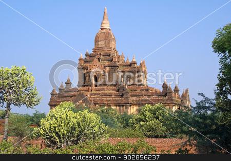 Thitsawaddy Pagoda, Bagan, Myanmar stock photo, Ruin of Thitsawaddy Pagoda, Bagan, Myanmar, Asia by Alexander Ludwig