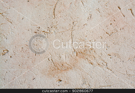Stucco wall background stock photo, Stucco wall background in earthy light color. by ArtesiaWells