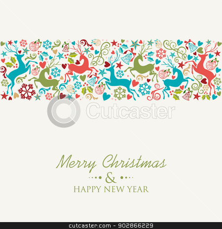 similar images merry christmas and happy new year greeting