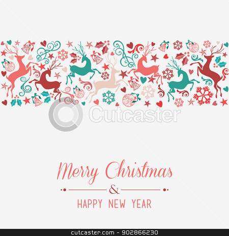 Merry christmas and happy new year greeting card stock vector similar images merry christmas and happy new year greeting card m4hsunfo