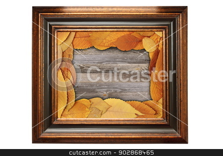 abstract backdrop with painting fram,e stock photo, vintage painting wooden frame with natural design backdrop inside by coroiu octavian