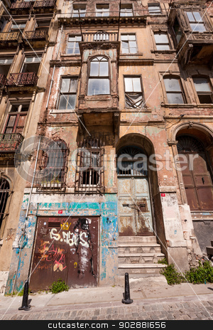 Galata Apartments stock photo, Galata neighborhood apartments in Istanbul by Scott Griessel