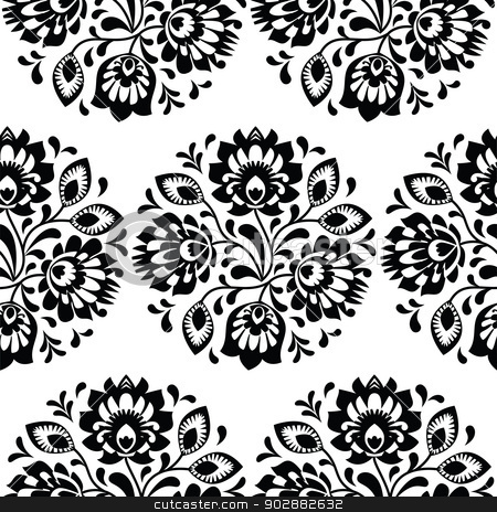 Similar Images Seamless Traditional Floral Polish Pattern
