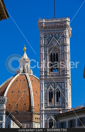 Florence Cathedral stock photo, Famous Florence Cathedral -  Basilica di Santa Maria del Fiore, Italy by Alexey Popov