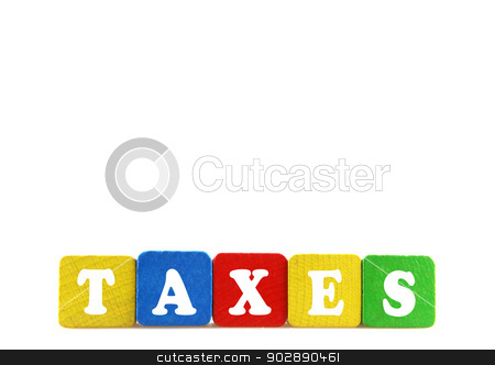 taxes concept stock photo, taxes concept by Nenov Brothers Images