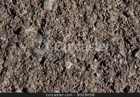 Abstract background photo stock photo, Closeup photo, abstract background texture of old cracked asphalt by Marian Bauer