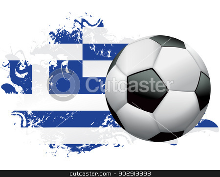 Greece Soccer Grunge Design stock vector c1092087f7