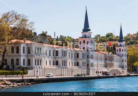 Kuleli Military School stock photo, Bosphorus Kuleli Military School Building Istanbul Turkey by Scott Griessel