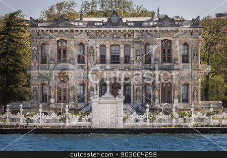 Summer Palace in Istanbul  stock photo, Summer Palace for Wealthy Ottoman in Istanbul by Scott Griessel