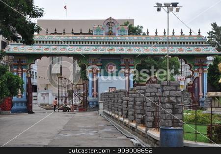 Pedamma Temple in Hyderabad stock photo, Pedamma Temple in Hyderabad, India by Ritu Jethani