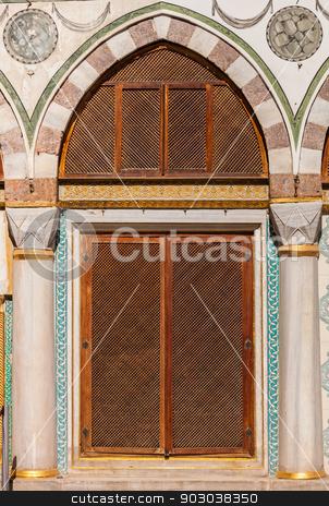 Turkish Window Screens stock photo, Turkish Window Screens from Ottoman Era Building by Scott Griessel