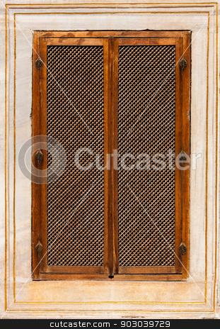 Turkish Window Screen stock photo, Turkish Window Screen from Ottoman Era Building by Scott Griessel