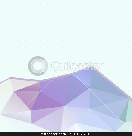 Abstract background of triangles and points stock vector clipart, Abstract background of triangles and points. Place your text on top. Geometric shapes. Light Backdrop. by LittleCuckoo
