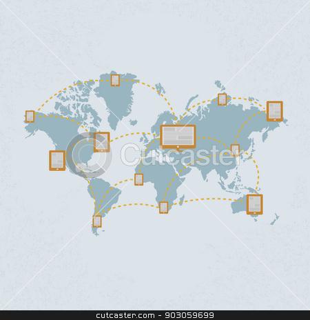 Social Media , Social  Network. eps 10 vector format stock vector clipart, Social Media , Social  Network. eps 10 vector format by ratch0013
