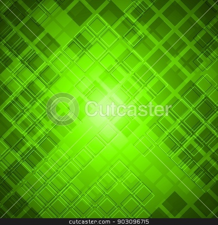 Vibrant tech backdrop stock vector clipart, Vector background with abstract square texture. Eps 10 by saicle