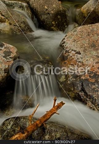 Rivulet Detail stock photo, Waterfall detail / Slovakia by richpav