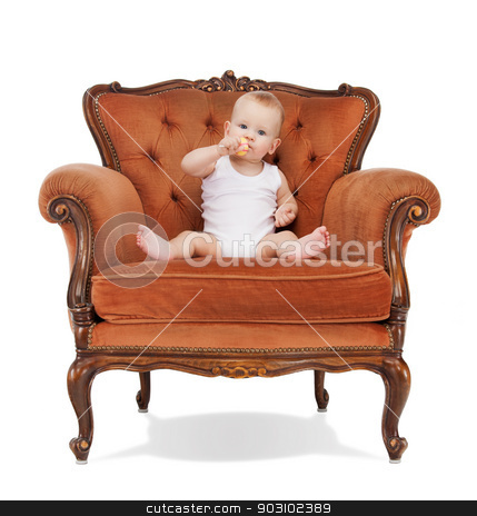 baby boy with lollipop stock photo, picture of adorable baby boy with lollipop. by Syda Productions