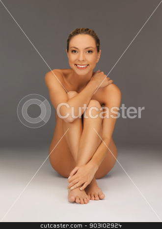 naked woman stock photo, picture of healthy naked woman by Syda Productions