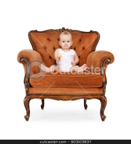 baby with big lollipop stock photo, picture of adorable baby with big lollipop by Syda Productions