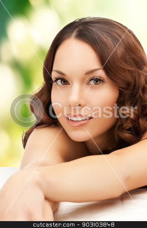 beautiful woman in spa salon stock photo, picture of beautiful woman beautiful woman in spa salon by Syda Productions