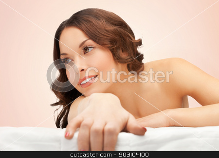 beautiful woman in spa salon stock photo, picture of beautiful woman in spa salon by Syda Productions