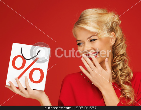 woman with shopping bag stock photo, picture of beautiful woman with shopping bag by Syda Productions