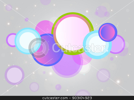 Colorful vector background.  stock vector clipart, Colorful vector background for your unique celebrations. by nazaranka