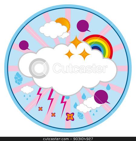 Colorful vector background.  stock vector clipart, Colorful vector background for your celebrations.  by nazaranka