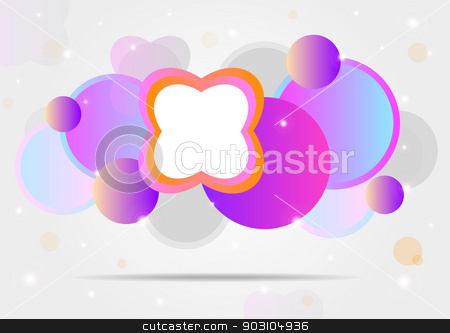Colorful vector background. stock vector clipart, Colorful vector background with abstract forms for your unique celebrations or web. by nazaranka