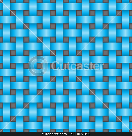 Abstract seamless texture with 3d effect stock vector clipart, Abstract seamless texture in blue with 3d effect by Mihaly Pal Fazakas