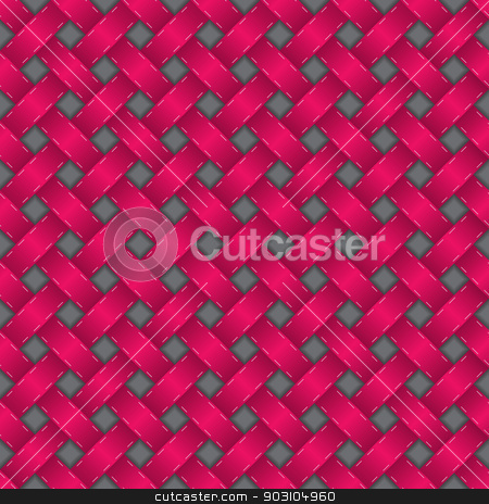 Seamless texture in pink with 3d effect stock vector clipart, Abstract seamless texture in pink with 3d effect by Mihaly Pal Fazakas