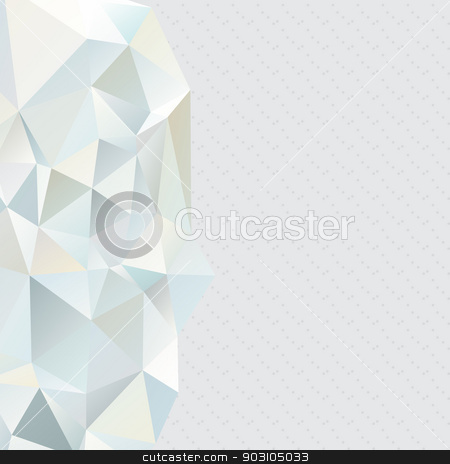Abstract, geometric backgrounds. stock vector clipart, Abstract, geometric background of triangles. Use as backdrop. Place your text on the top by LittleCuckoo