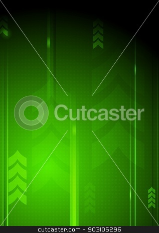 Technical backdrop stock vector clipart, Hi-tech abstract background with arrows. Vector illustration eps 10 by saicle