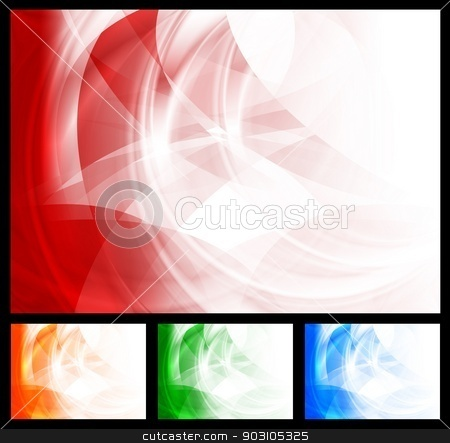 Abstract bright backgrounds stock vector clipart, Stylish vector design. Four colors. Eps 10 by saicle