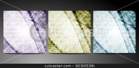 Abstract backdrops stock vector clipart, Dim backgrounds with different texture. Eps 10 vector by saicle